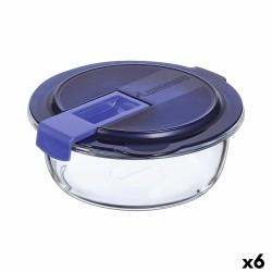maceta alta 163 l prosperplast urbi square effect de plástico con depósito en color gris claro