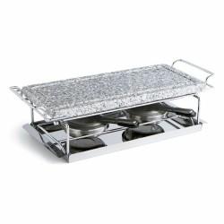set decoración baño papelera 3 litros y escobillero a juego en color marrón