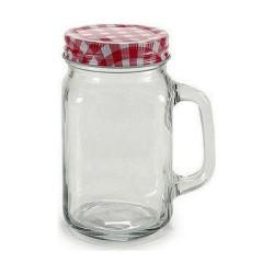 set 5 boles cristal con tapa verde