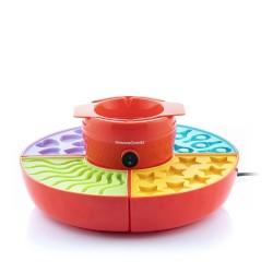 estantes de madera 4 compartimentos blanco