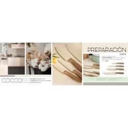set de 3 unidades de cubertería 24 piezas cutlery de acero inoxidable modelo happie green renberg